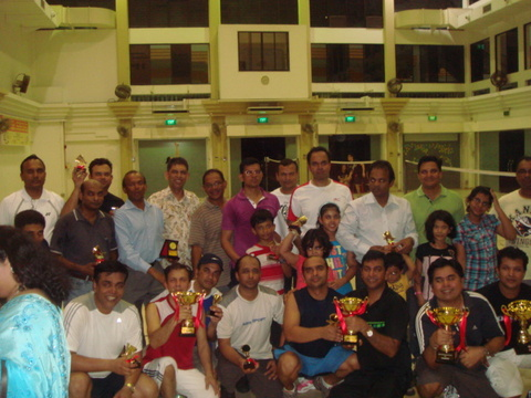 SMC healthy life-style campaign: Badminton