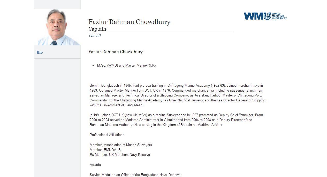 DEEDS, NOT WORDS: কথা নয়, কাজ  – F R Chowdhury