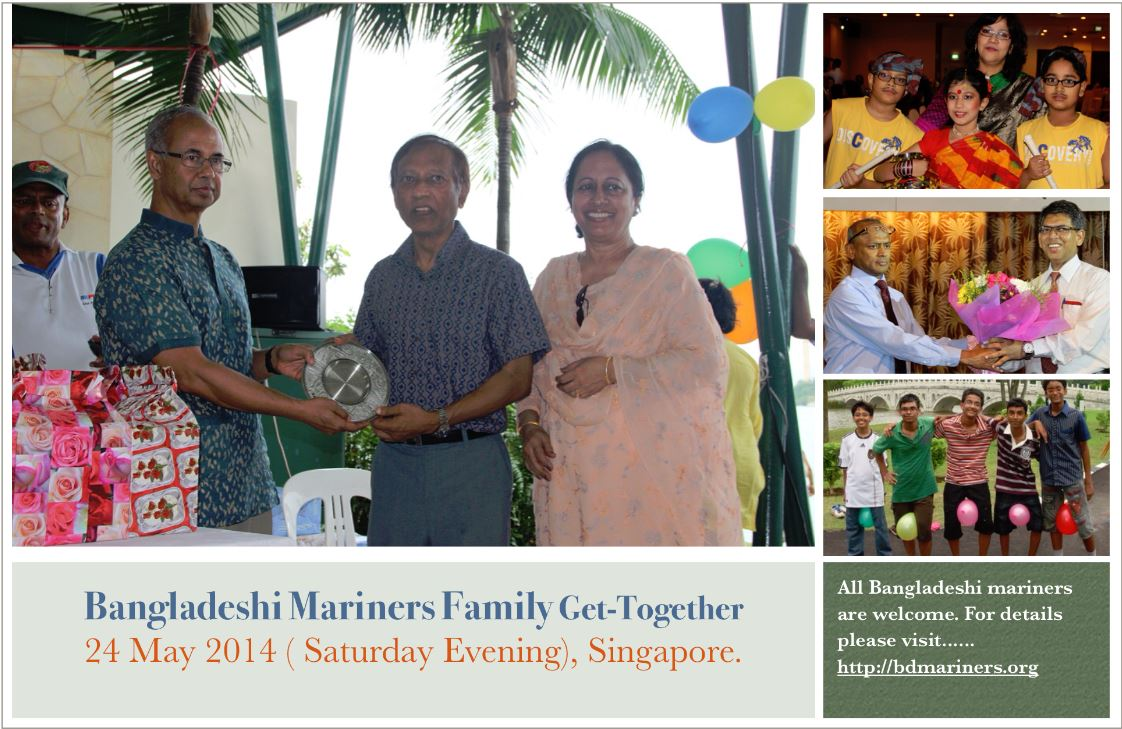 BD Mariners Family Get-Together 2014, Singapore.